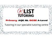 Maths Tutor GCSE & A-Level at AList tutoring centre