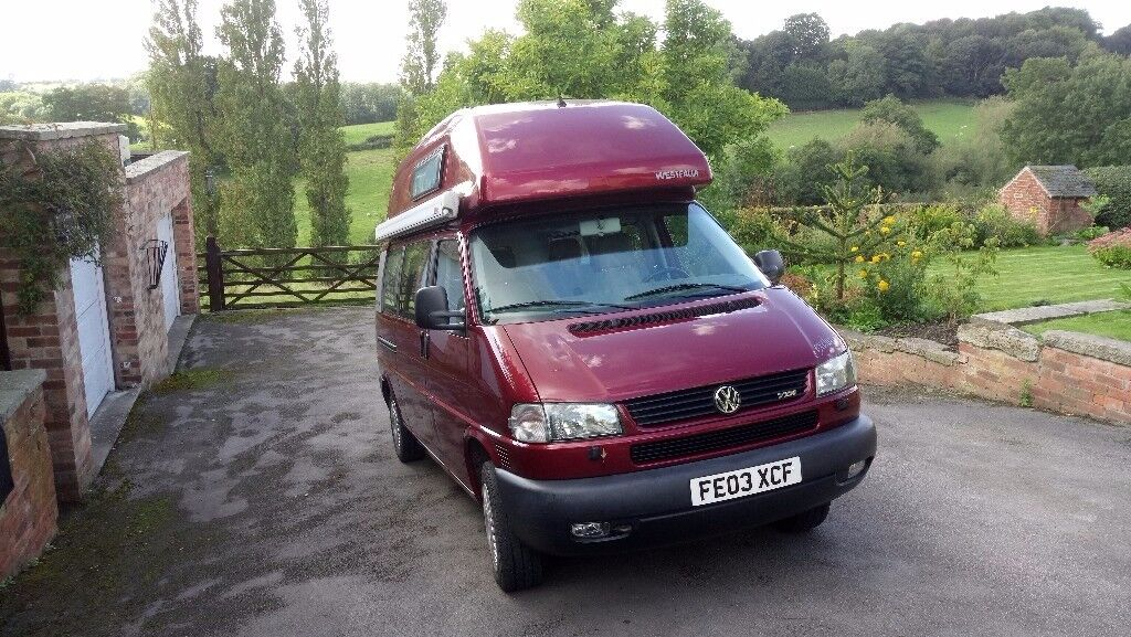 VW California Exclusive 2003 (lwb high top), 4 berth ...