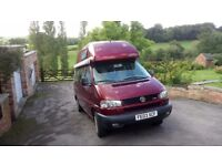 VW California Exclusive 2003 (lwb high top), 4 berth, 64500 miles, 2461cc turbo diesel manual