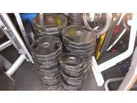 570kg Body Power Olympic Rubber Coated Polygonal Hex Weight Plates