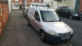 VAUXHALL COMBO 1.7DTI MAXX DIESEL. CHEAP BULLET PROF ENGINE VERY RELIABLE