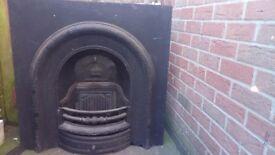 Vintage Cast iron fire