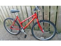 Ladies RALEIGH SEROSA mountain bike for sale