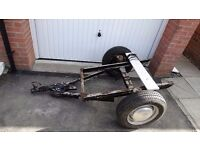 Trailer Chassis/Project. Steel Frame