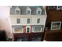 DOLLS HOUSE Exquisitley made by Engineer Craftsman