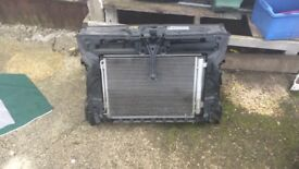Vw caddy 2014 radiator pack