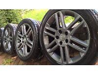 Vauxhall SRi 17 '' alloys wheels
