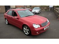 STUNNING 1 OWNER 2005 55 REG MERCEDES C180 MANUAL CHEAPER PX WELCOME ��1795