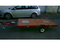 Trailer 8x4 foldable