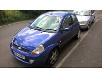 Ford SportKa SE 2004 MOT Failure, Spares or Repair, Alloys, Leather, 1.6 Engine, Sports Camshaft.