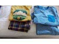 2 pairs boys pyjamas