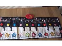 Early learning centre (ELC) musical dance mat piano/organ