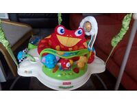 Jumperoo tropical forest