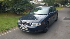 AUDI A4 FULL SERVICE HISTORY WITH 10 STAMPS ON THE BOOK.NEW DISCS END PADS.MOT UNTIL AUGUST 2017.