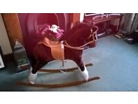 Rocking horse to suit 3-6yrs. Immaculate condition