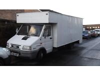 iveco daily 3510 luton 2.8 turbo, 62,000 genuin millige