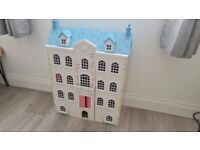 Doll House Argos RRP £65 with Furniture and Dolls (Looks Brand New)