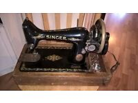Singer sewing machine. 1915. 101 years old