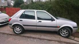 Ford fiesta ghia, immaculate condition. Low mileage.