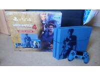 Limited Edition Uncharted 1TB PS4 Console