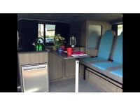 VW T5 CAMPERVAN HIRE FOR HOLIDAYS, TRIPS, FESTIVALS, WEDDING, TRIP AND MUCH MORE
