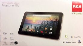 RCA Neptune 10L 10.1-Inch Touch Screen Tablet - (MediaTek MT8127, 1 GB RAM, 16 GB SSD, Android 6.0)
