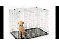 Large Dog Crate. Hardly used. L61 x W46 x H53
