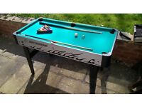pool/ table football table for sale