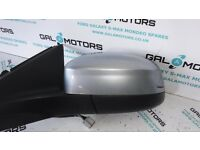 FORD MONDEO MK4 2007-2010 NS WING MIRROR IN MACHINE SILVER HG08