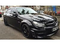 2010 MERCEDES C63 AMG FACELIFT 520+ BHP REMAPPED COSMETIC DAMAGED REPAIRABLE DRIVE AWAY E63 E55 63