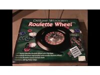 Roulette Wheel Poker Game
