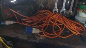 caravan mains cable