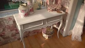 Laura Ashley console table/dressing table