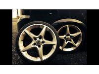 5x110 Vauxhall alloys pentas