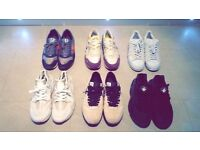 A selection of trainers for sale - UK9's and UK10's