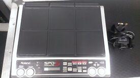 ROLAND SPD-s SAMPLING PAD DRUM MACHINE + 1GB MEMORY CARD