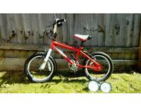 16inch bike with or without stabelisers