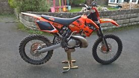 ktm 250 sx 06 not exc or xc