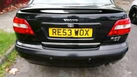 Volvo s40 black