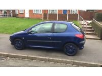 Peugeot 206 1.4 Petrol Midnight Blue
