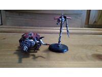 Warhammer 40K Necron Wraith and Tomb Spider