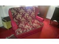 Sofa and two armchairs - Traditional cottage style three piece suite