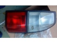 Toyota Land Cruiser OS rear Light with BULB Holders Genuine Part