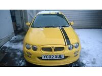 MG ZR 160 *folder full of reciepts, well looked after*