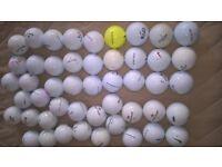 Golf Balls (all pick ups NO cuts ) quantity (66 )