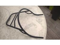 BMW motorbike tail luggage rack . Suits many 80s & 90s R-Series models