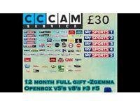 Full 12 months Openbox/Zgemma gift