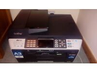 Brother A3 and A4 All-in-One Wireless Printer, Scanner, Photocopier and Fax