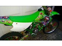 Kawasaki Kx 100 Kx100 not Kxf Cr Crf Yz Yzf Rm Rmz Ktm 65 80 85 125 150 250 450