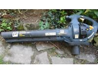 Petrol leaf blower pro performance 24cc